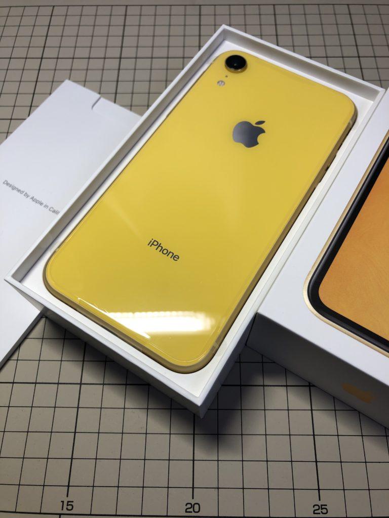 iPhoneXR背面
