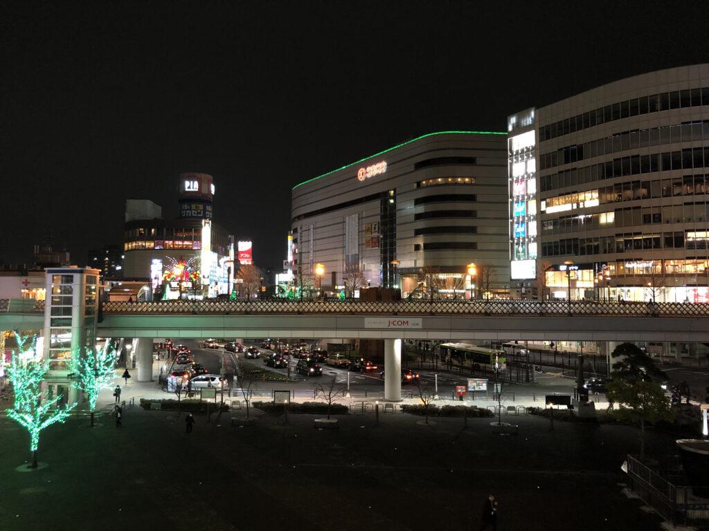 そごう川口店 夜景